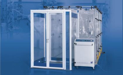 אוהלים לבידוד מפני מחלות זיהומיות מדבקות  IsoArk